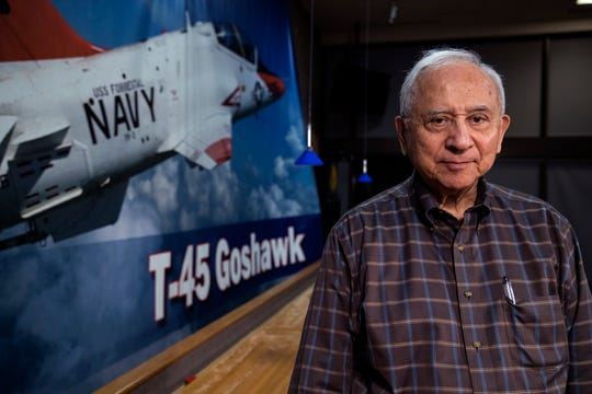 Retired Navy Cmdr. Everett Alvarez Jr. was the first American shot down over North Vietnam. He was a POW for nearly nine years and is the second-longest POW in American history.