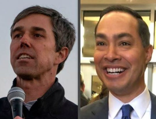 Beto O'Rourke and Julian Castro