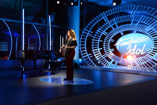 Payton Taylor, a native of Turnersville, auditions for 'American Idol' in Louisville, Kentucky. It's the second 'Idol' appearance for Taylor, who unexpectedly earned a golden ticket when playing guitar for her sister Taryn Coccia, who's also a singer.
