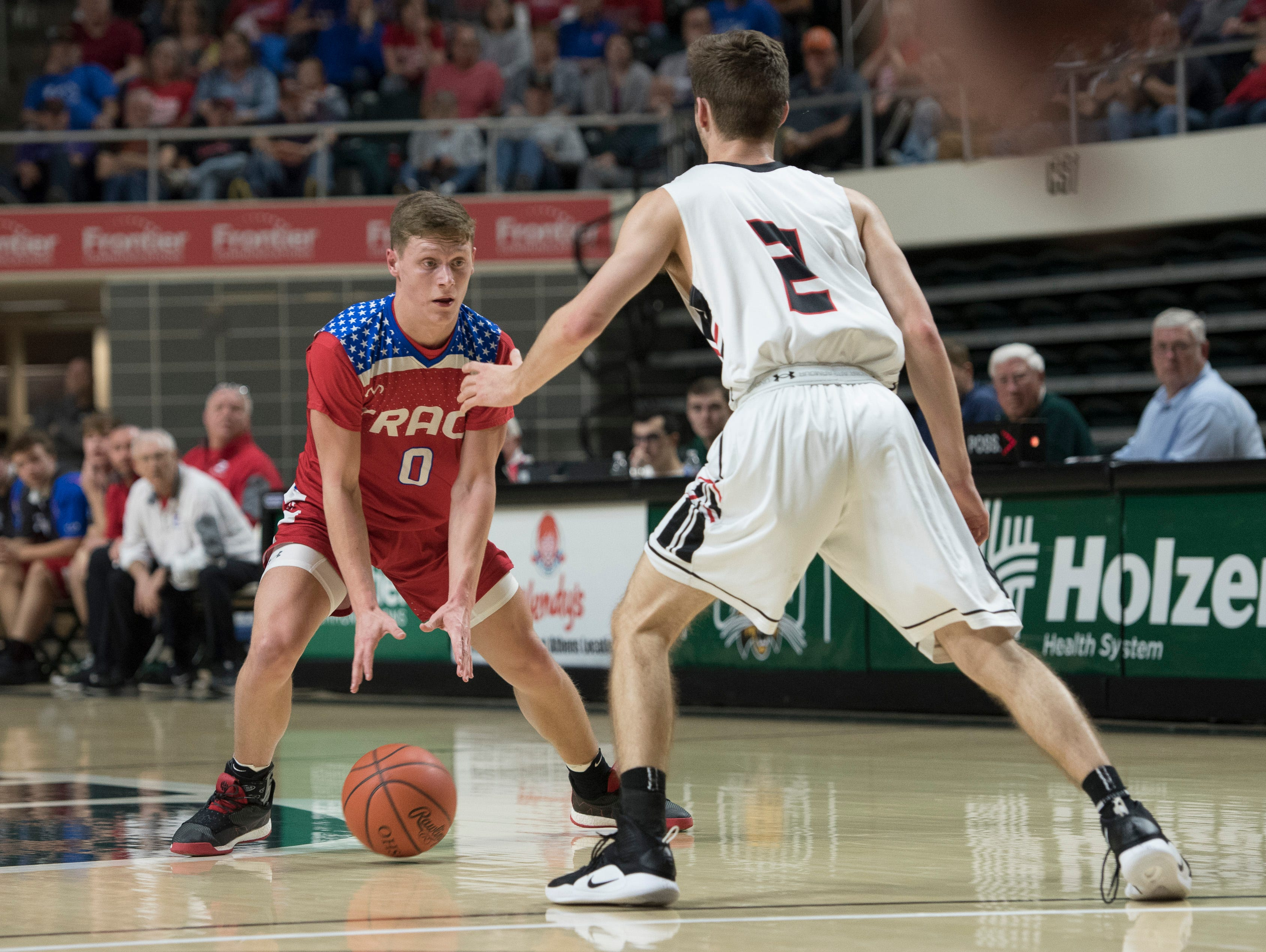 New Philadelphia defeated Zane Trace 50-43 Wednesday night in a Division II regional semifinal game at Ohio University's Convocation Center on March 13, 2019.