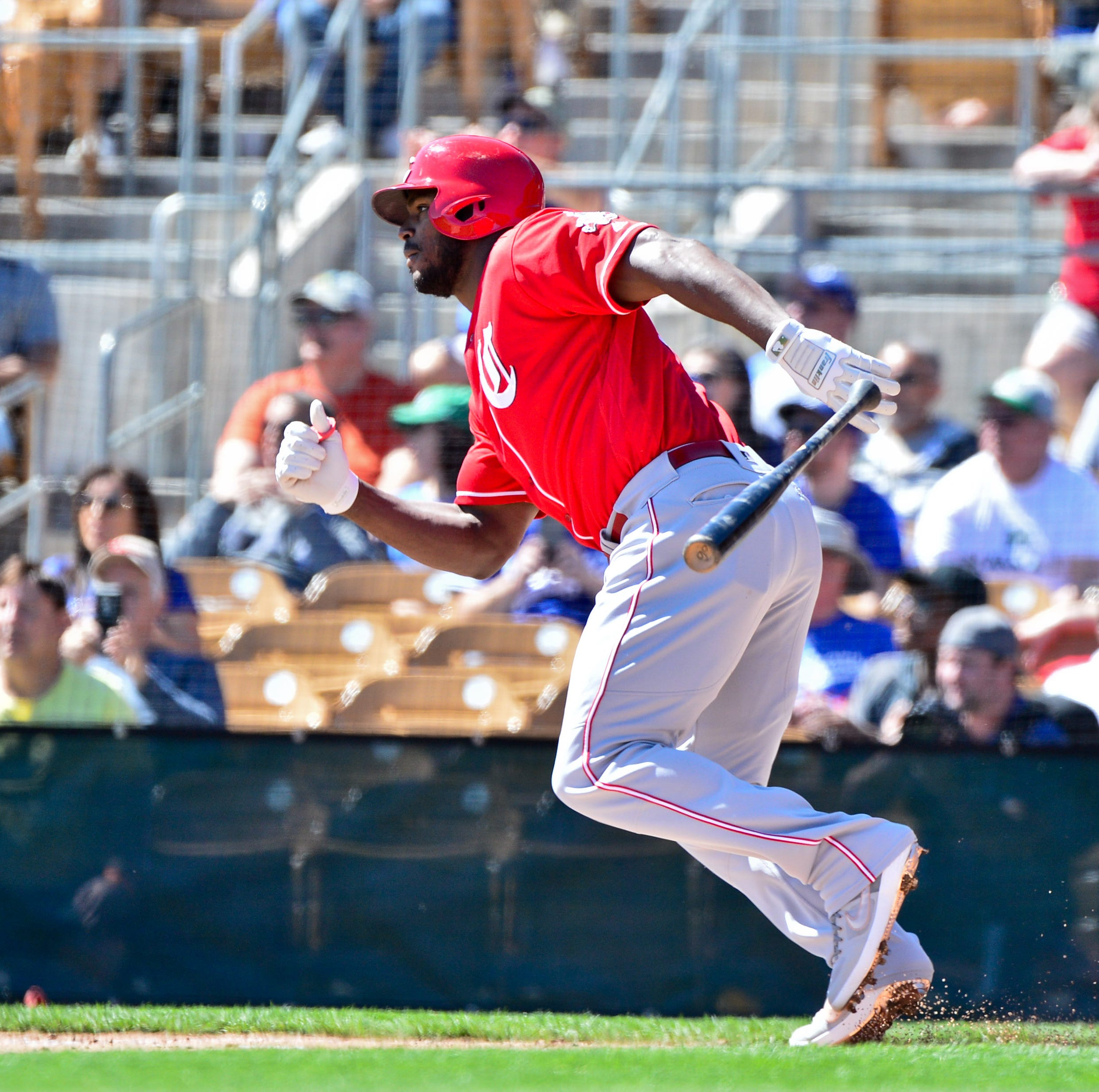 Yasiel Puig homers twice in Cincinnati Reds' 9-9 tie against Cleveland Indians