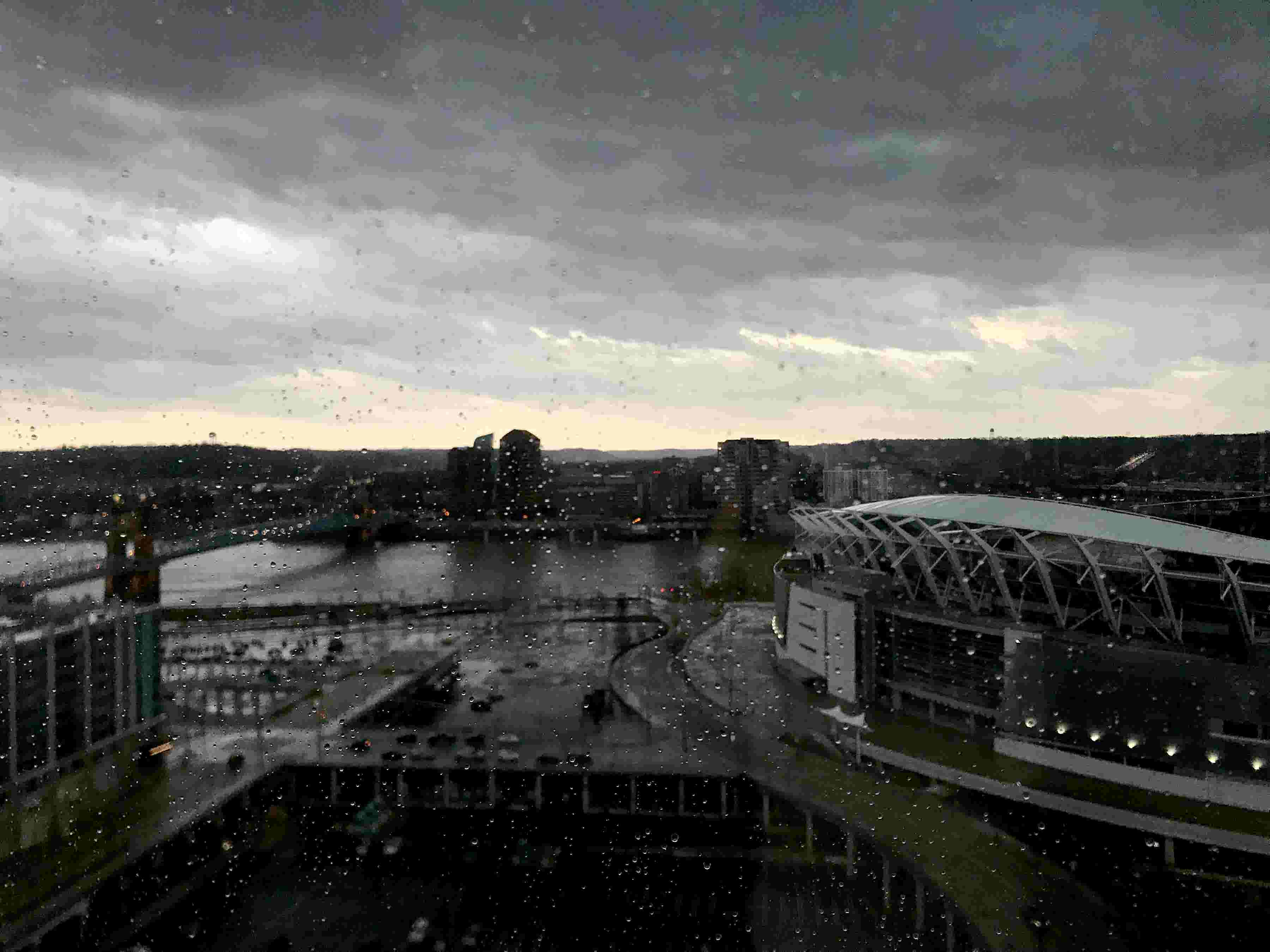 Time-lapse: Storms roll into Downtown