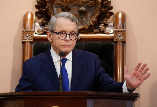 Ohio Gov. Mike DeWine hinted at his state budget priorities during his first State of the State address last week.