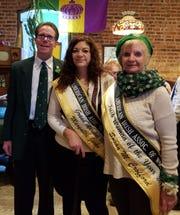 Ken Gardner, Irish Man of the Year poses with fellow 2019 Woodbridge Township parade honorees, Maryalice Jacko, Grand Marshal, and Susan Crofford, Irish Woman of the Year