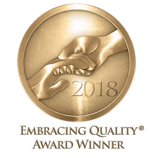 Reformed Church Home in Old Bridge was recently awarded Providigm's Embracing Quality Award for 2018 for exceptional achievement in Customer Satisfaction.