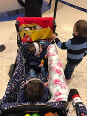 """The Pepin family of Sayreville has two of their three young children diagnosed with Retinoblastoma, a rare eye cancer. Diagnosed at just 15 days old, EverettPepin, now 3, is currently in remission. His11-month-old sister Rory — short for Lorelai — was diagnosed at sixmonths and just finished her last chemotherapytreatment on Feb. 28.On March 23, Sayreville PBA Local #98 will host the """"Battle of the Borough"""" —abasketball gameto benefit the Pepins."""