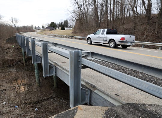 A bridge deck replacement on Ohio 93 just north of Plainfield is one of the larger projects taken on by the Ohio Department of Transportation this spring. The expected price tag is just over $1 million.