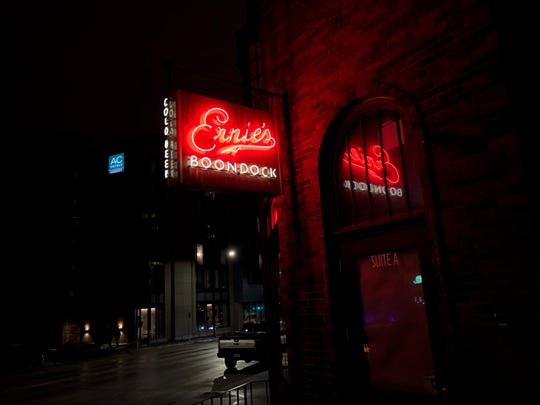Ernie's Boondock makes it debut at 440 E. Grand Ave. at 3 p.m. Friday.