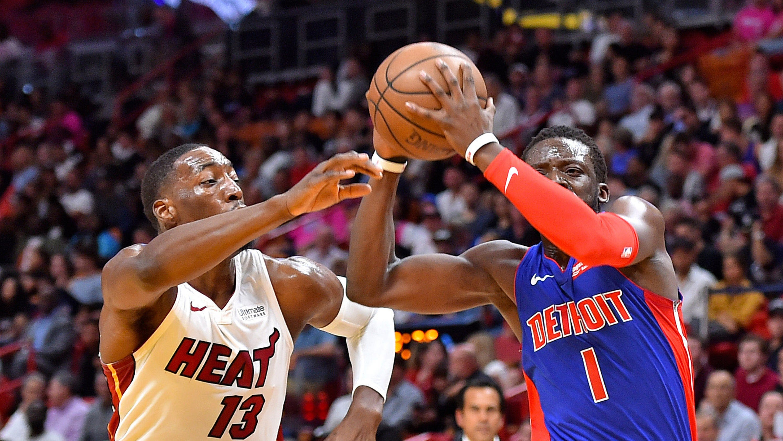 96de4c183 Detroit Pistons  playoff push suffers blow with Reggie Jackson injury