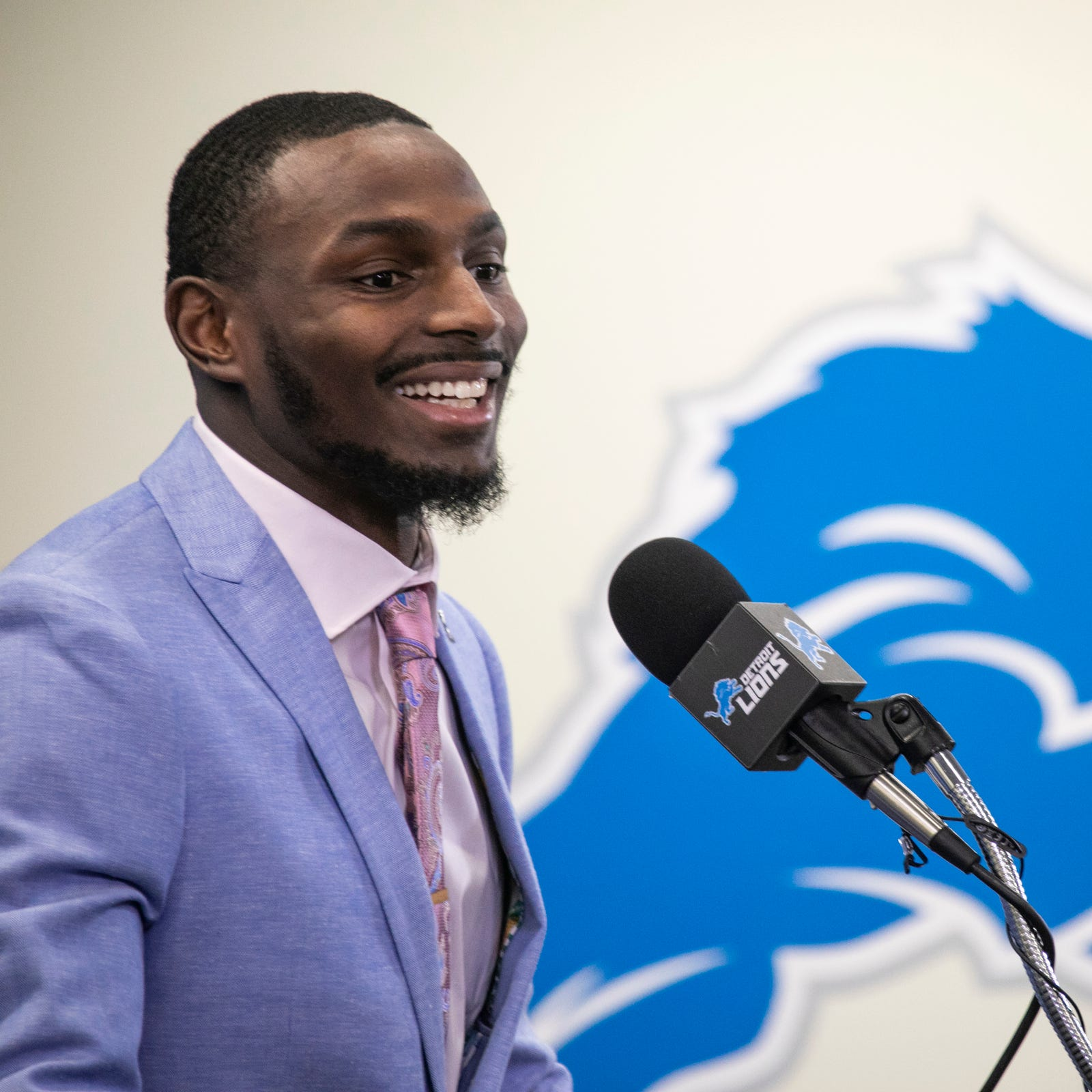 New Lions CB Justin Coleman: I have to 'prove that I'm worth what I was given'