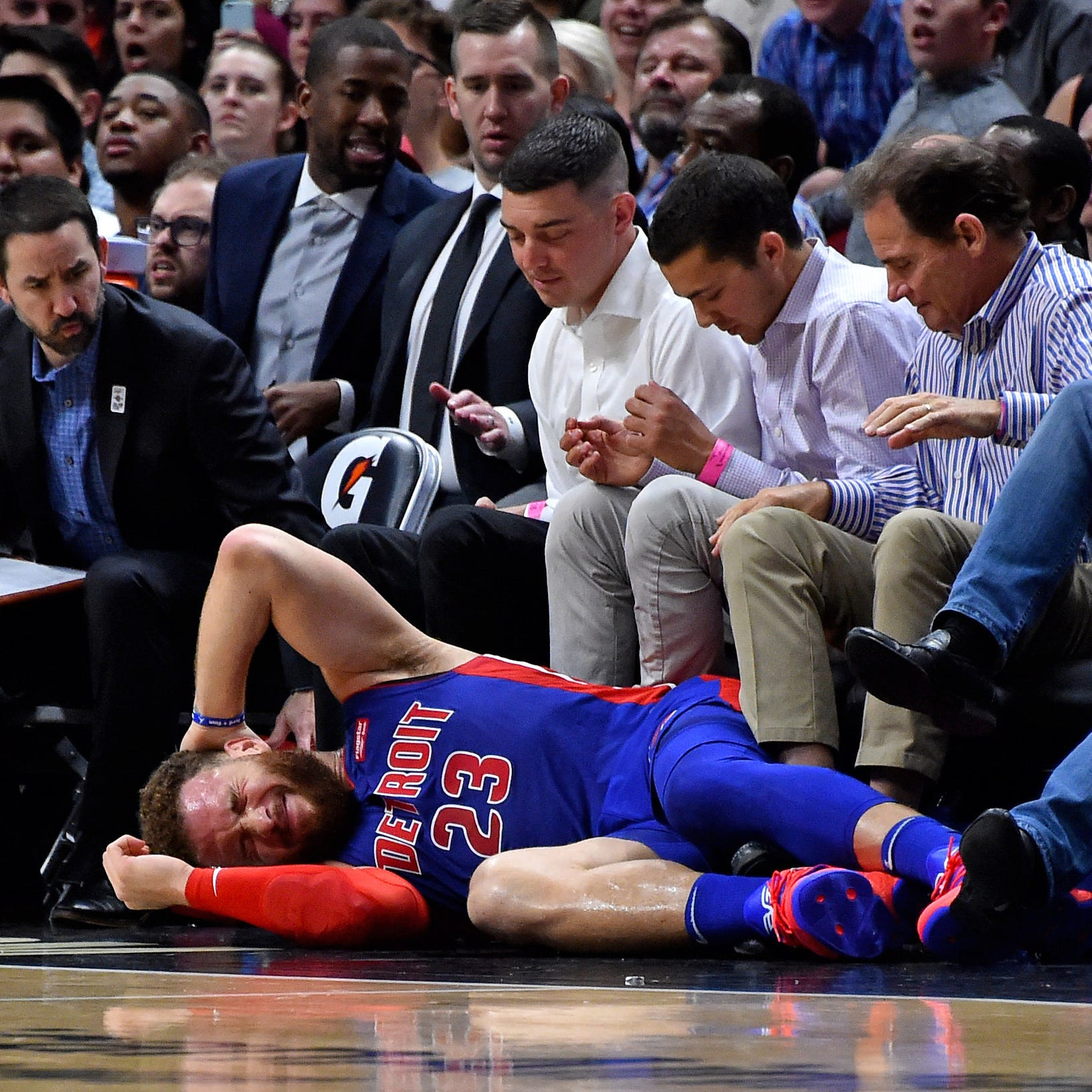 Detroit Pistons go ice cold in second half, Reggie Jackson hurt in 108-74 loss to Heat