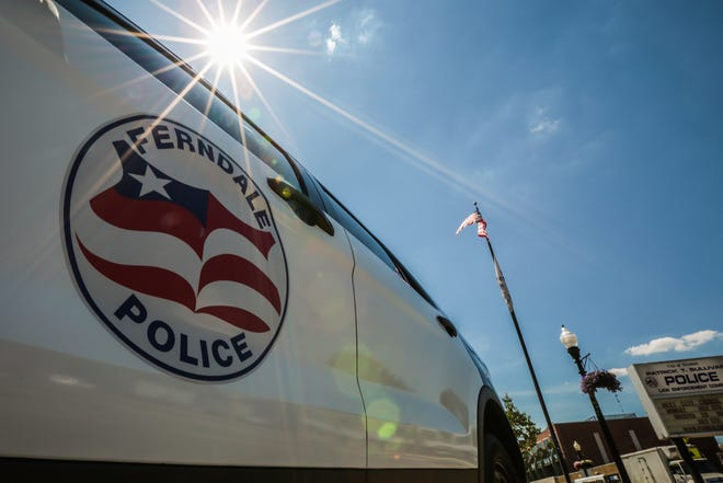 A police car is seen at City of Ferndale Patrick T. Sullivan Police Law Enforcement Complex on Monday, June 30, 2016, in Ferndale.