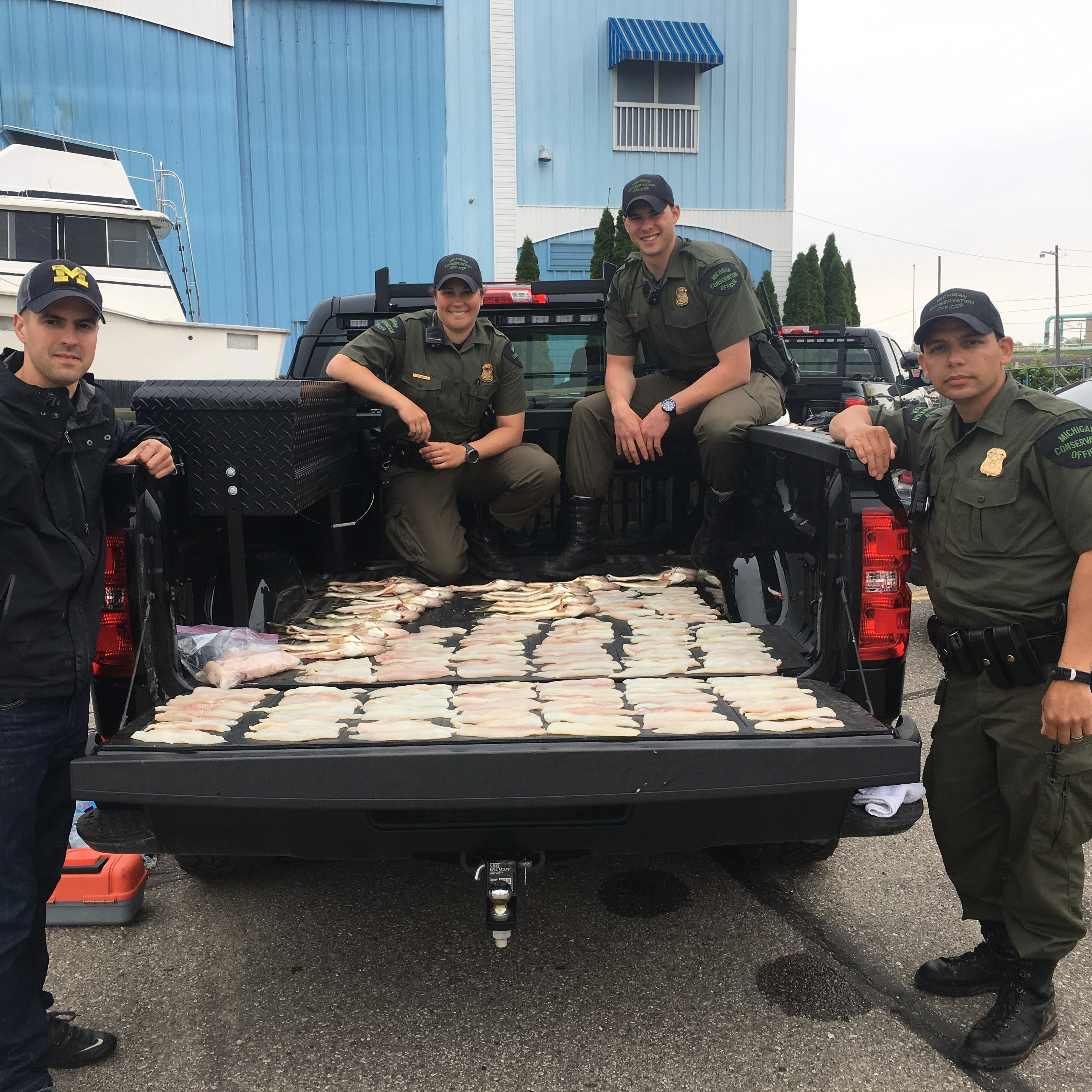 Michigan twins fined by DNR for poaching 65 walleye over the limit
