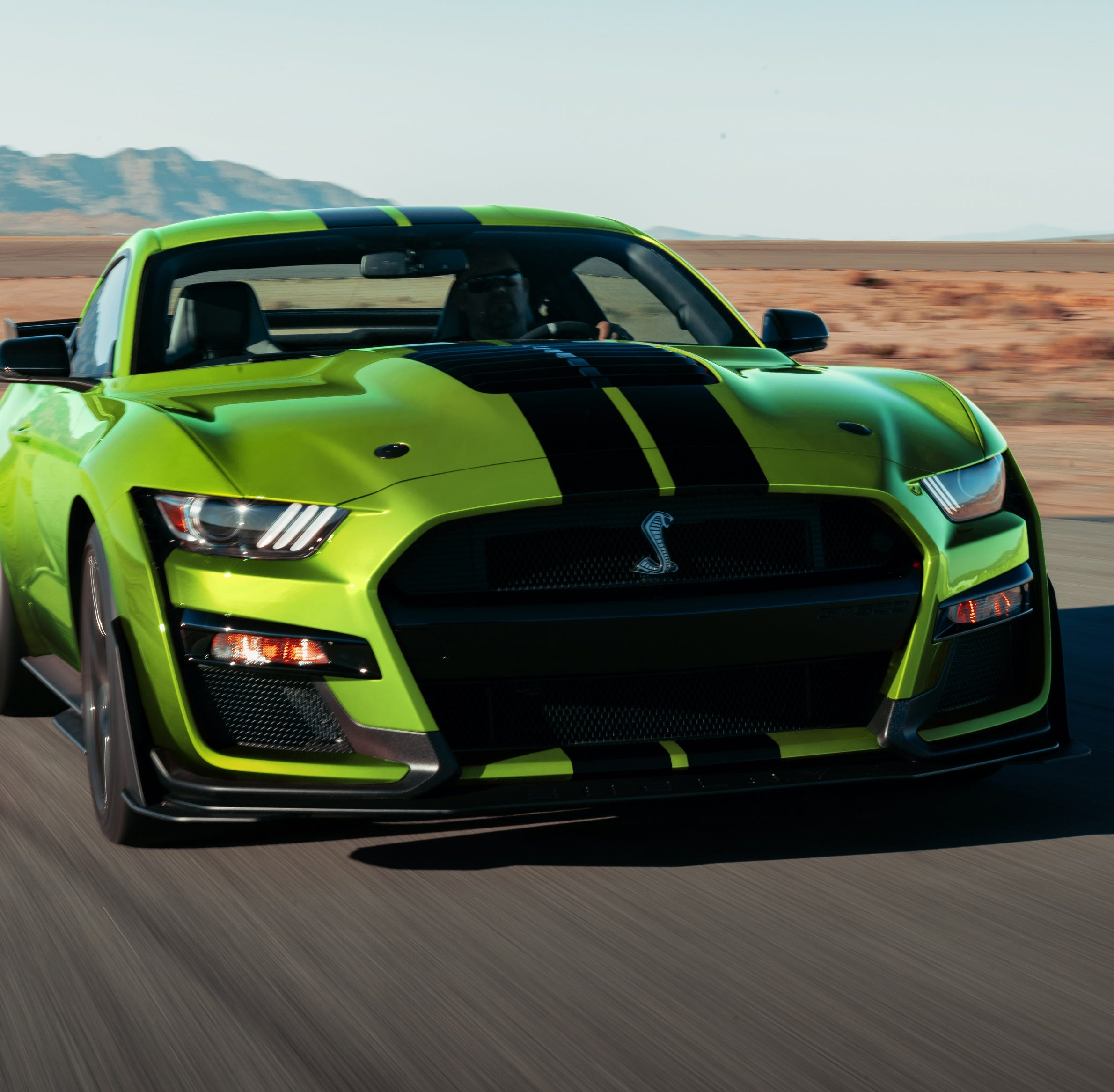 Ford Mustang unveils lime green option in time for St. Patrick's Day