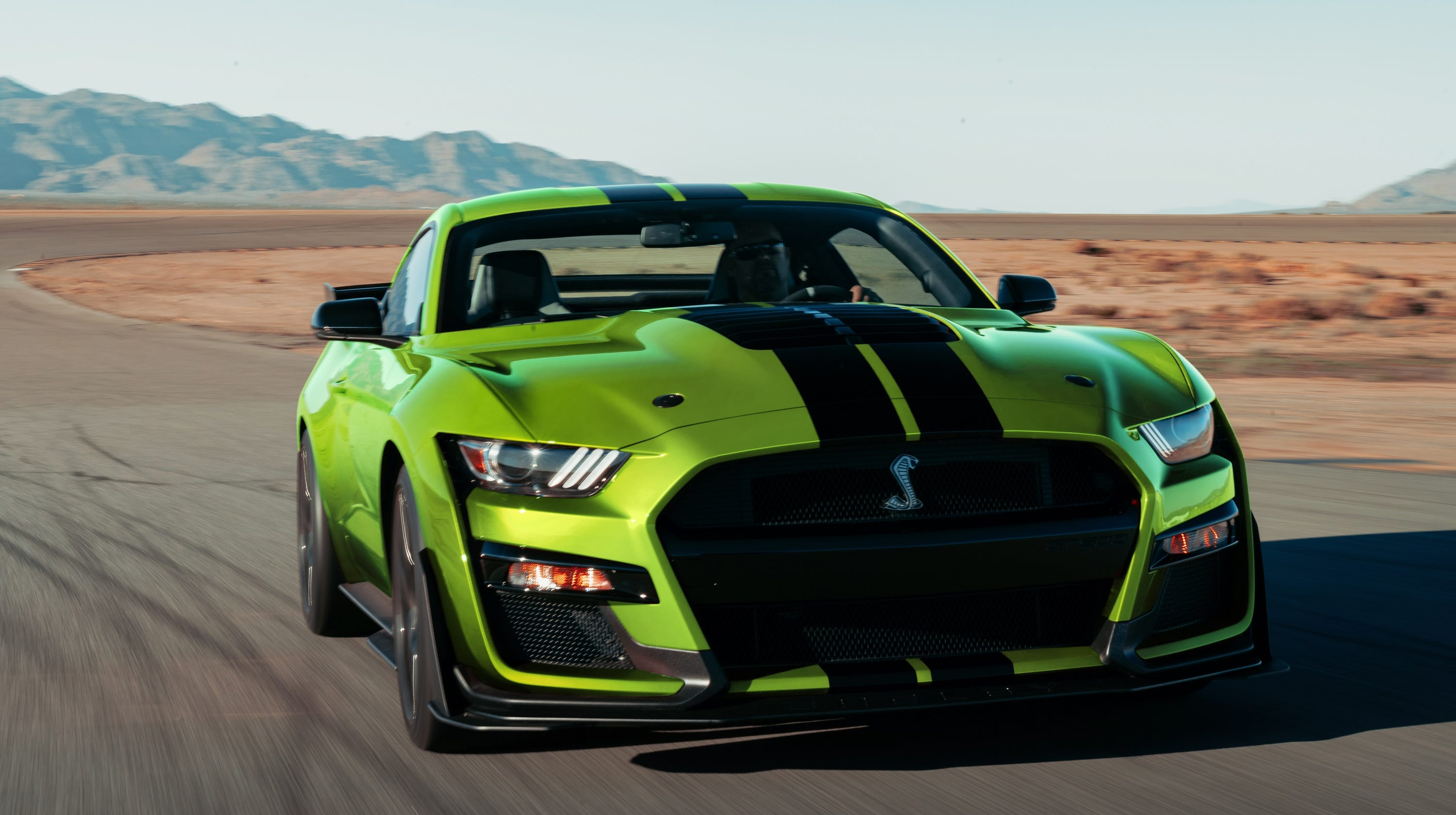 Ford mustang unveils lime green option in time for st patricks day