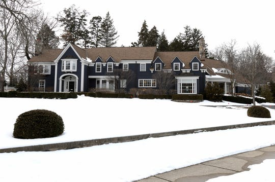 The vintage house on Glengarry in Bloomfield Hills was built in 1938 then enlarged and improved by subsequent owners. Its neighborhood is called Bloomfield Village, which is not a political entity but a mile-square subdivision built 60-80 years ago with very tight architectural controls.