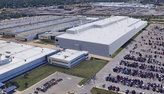 A rendering showing plans to convert the Mack Avenue Engine Complex as part of Fiat Chrysler Automobile's announcement to invest $4.5 billon into southeast Michigan.