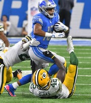 Former Detroit Lions receiver Golden Tate scored a big payday on the open market, agreeing to a four-year, $37.5 million deal with the New York Giants, according to multiple reports. The contract includes $23 million in guarantees.