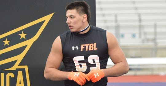 Van Fillinger, a 6-foot-3, 255-pound tight end from Draper (Utah) Corner Canyon, received an offer from Michigan.