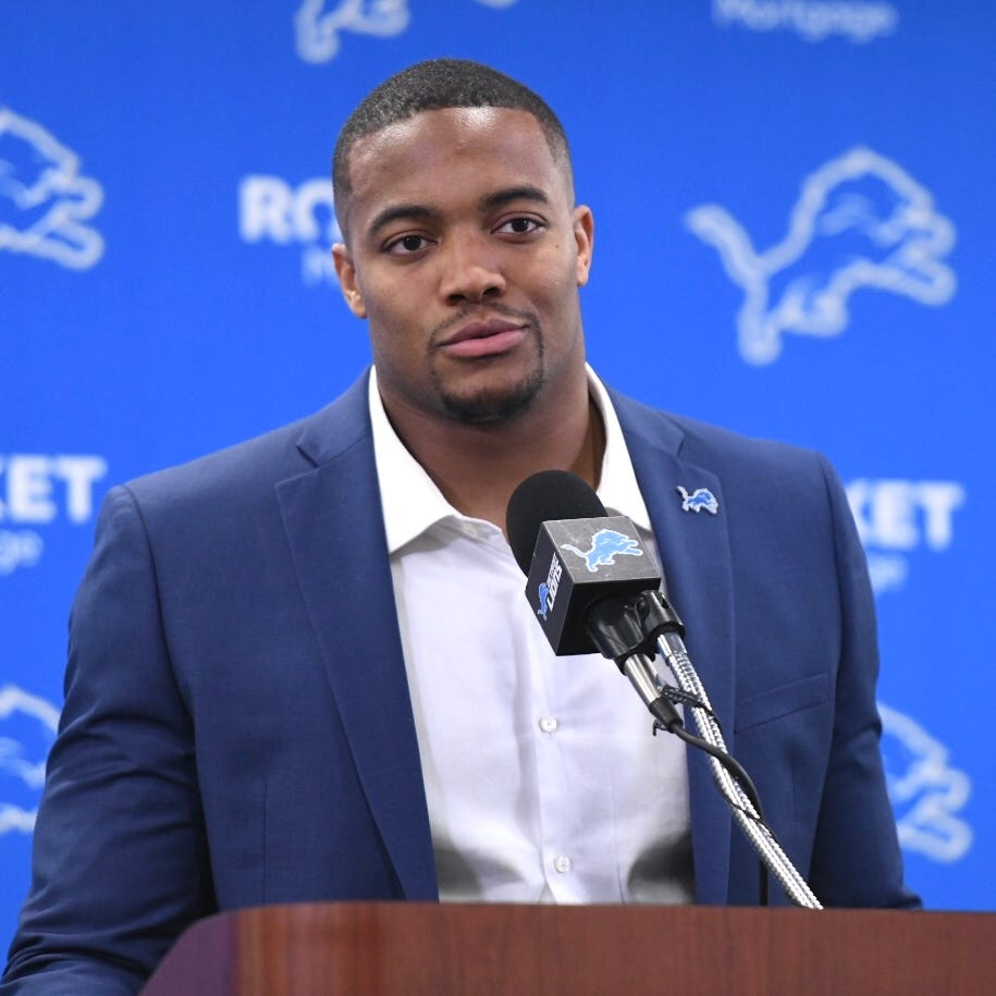 Bob Quinn: 'No sure bets' in free-agency, but new Lions DE Trey Flowers comes close