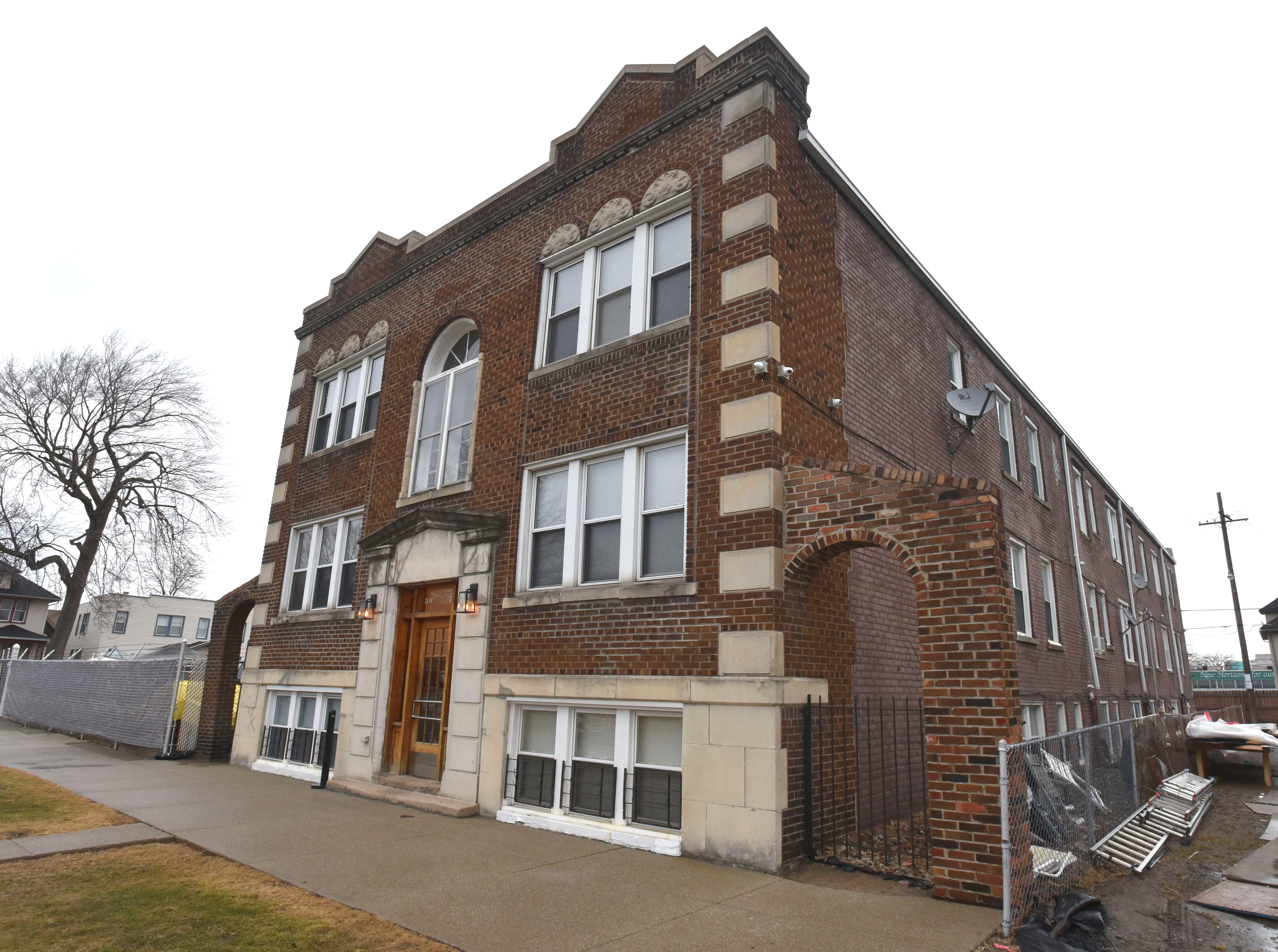 This three-story brownstone apartment building at 2072-2074 Wabash in Corktown sold for $1.9 million.