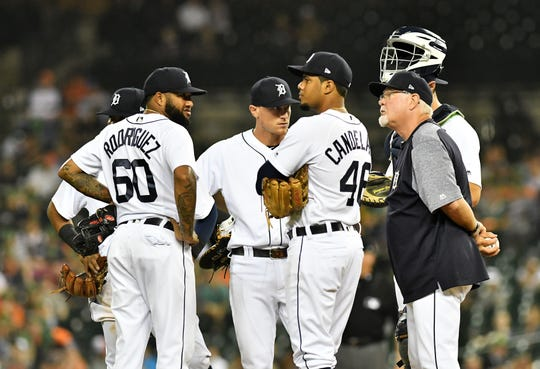 The maximum number of mound visits will be reduced from six to five.