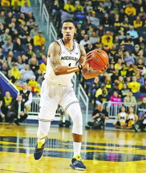 Charles Matthews, the lone fourth-year player on Michigan's roster, has missed the last three games with an ankle injury he suffered early in a Feb. 24 loss to Michigan State.