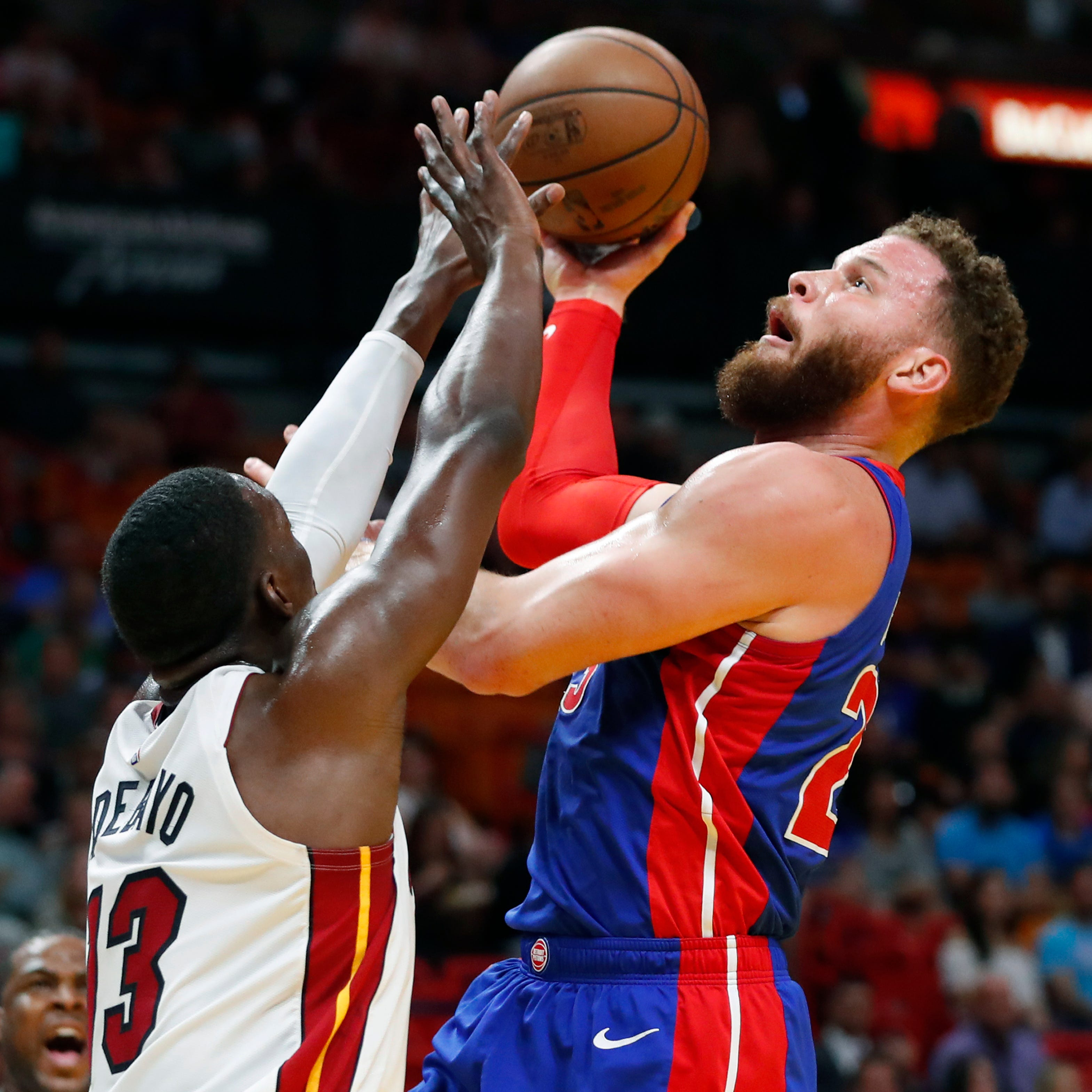 Pistons go ice-cold in third, get demolished by Heat; Reggie Jackson injured