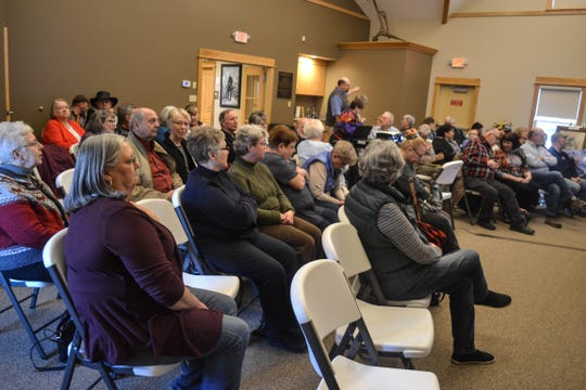 "Sixty-two visitors attended the ""Native America in the North West Territory"" presentation at the Clyde Museum on March 12."