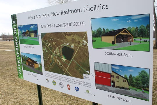 With more than $2 million in improvements, White Star Park is getting a lot of upgrades, including new restrooms and a water/sewer extension project.