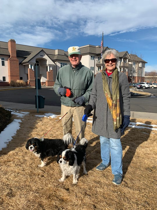 When Keith and Nancy Johnson moved to The Winslow, there was no question: their Cavalier King Charles Spaniels Odi and Bowser were coming along.