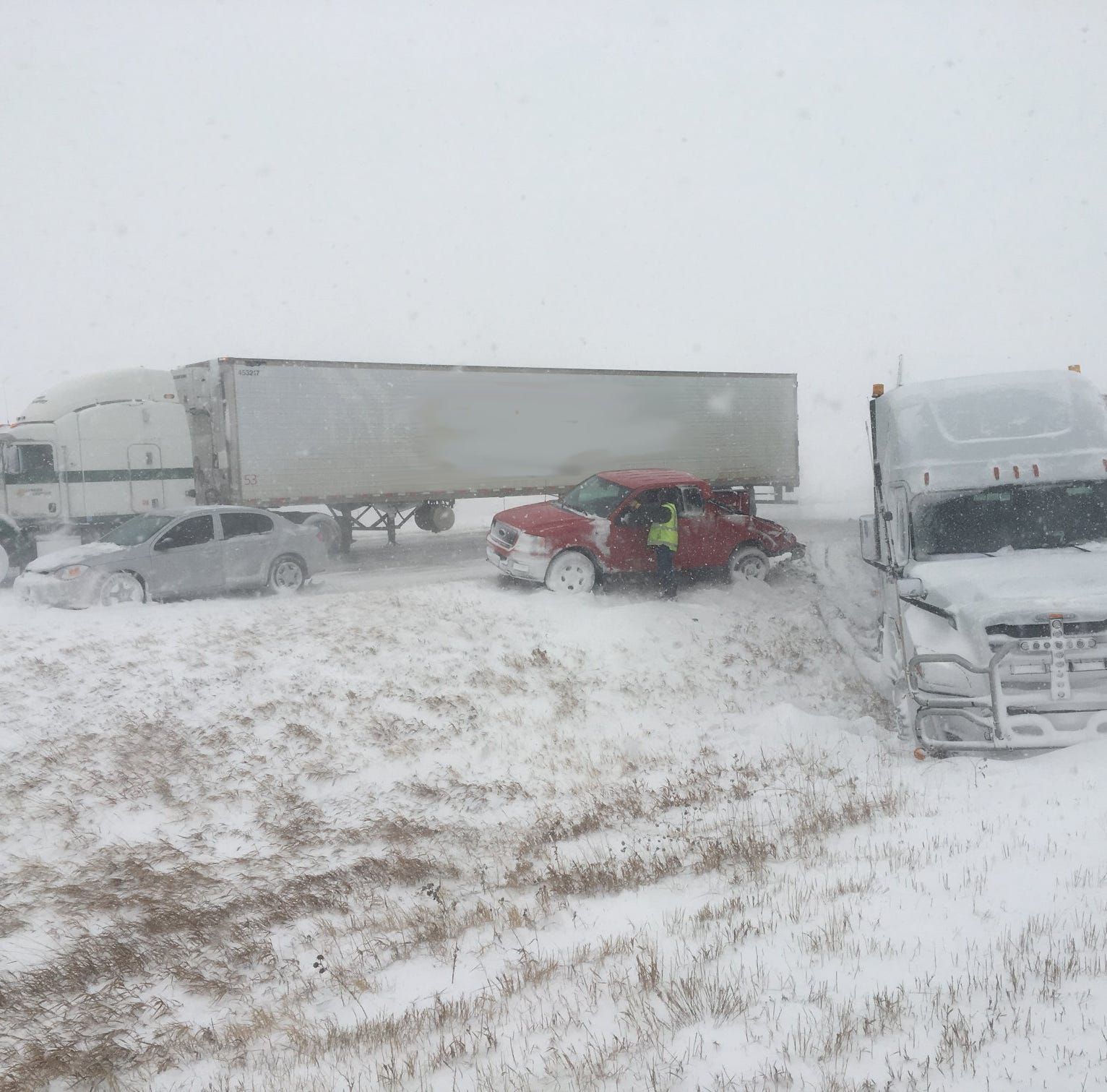 I-25 reopens in aftermath of 'bomb cyclone' blizzard
