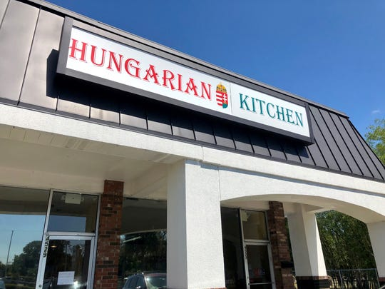 Hungarian Kitchen opened in December in the back of Weavers Corner shopping center in North Fort Myers.