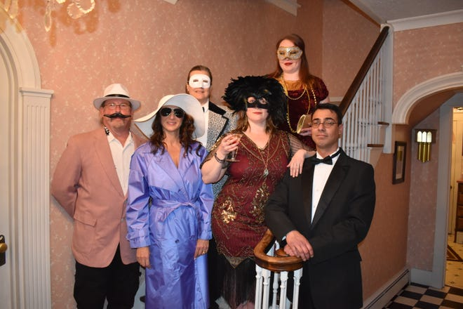 """Rogue Theater will present """"Dead Tuesday,"""" a Mardi Gras murder mystery, as its annual spring dinner theater production."""