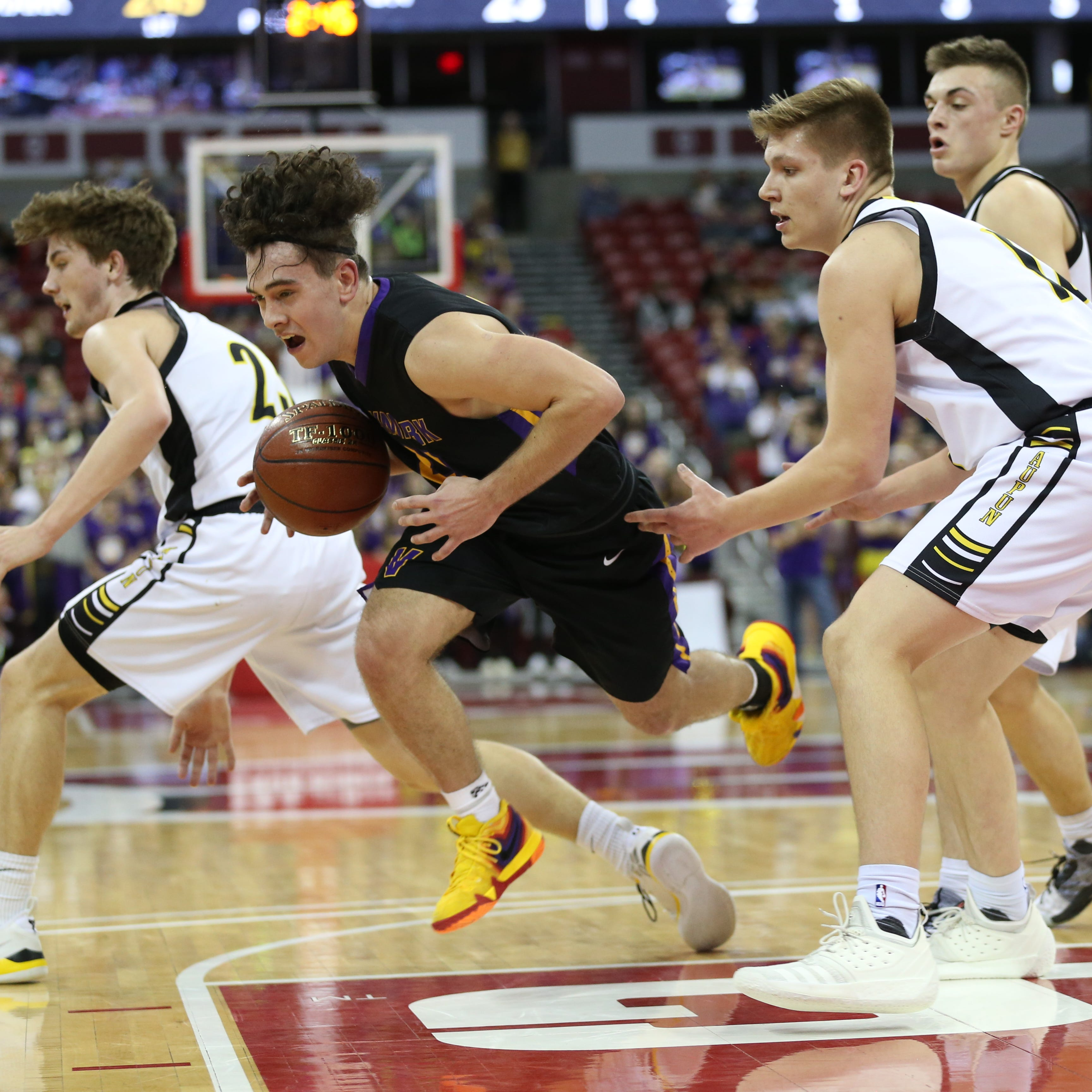 WIAA state basketball: Waupun's Marcus Domask too much for Denmark in semifinal