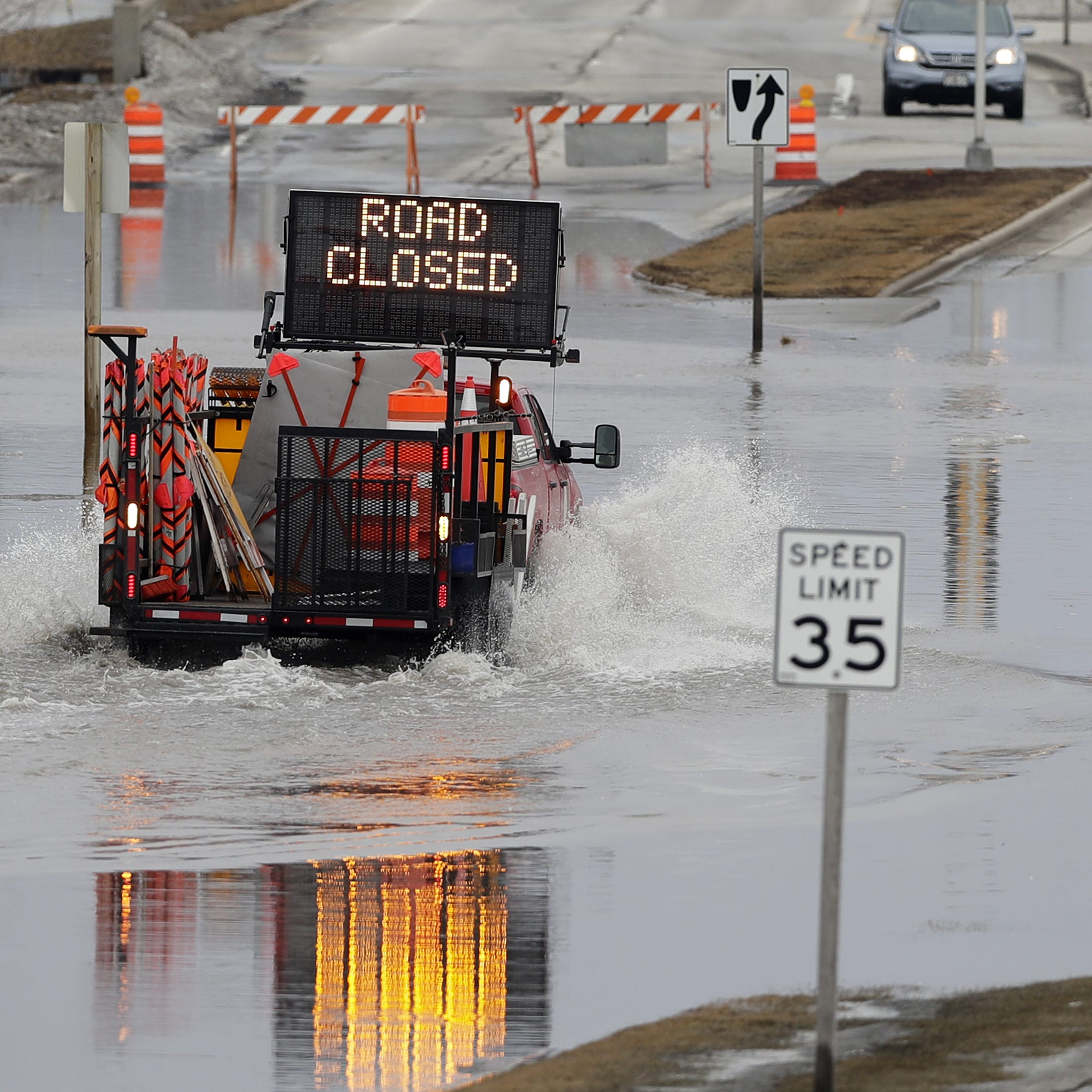 Warm temperatures, rain, speed up snowmelt, causing flooding throughout Brown County