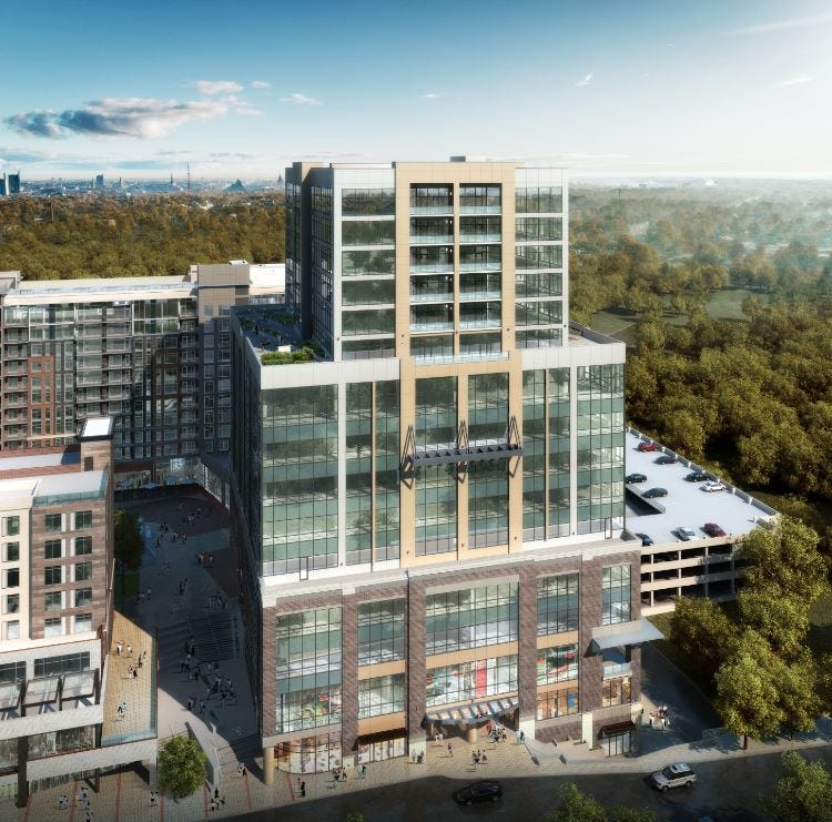 1st look: 17-story Falls Tower in Camperdown will be among downtown Greenville's tallest