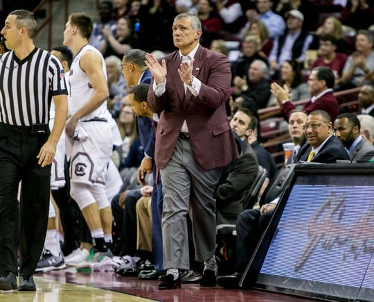 South Carolina basketball coach Frank Martin and the Gamecocks were in a four-game losing streak when they held a practice that changed their season