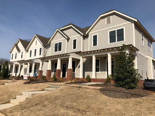 Sutton Park, on Center Street and Love Drive, is among the new housing in Travelers Rest