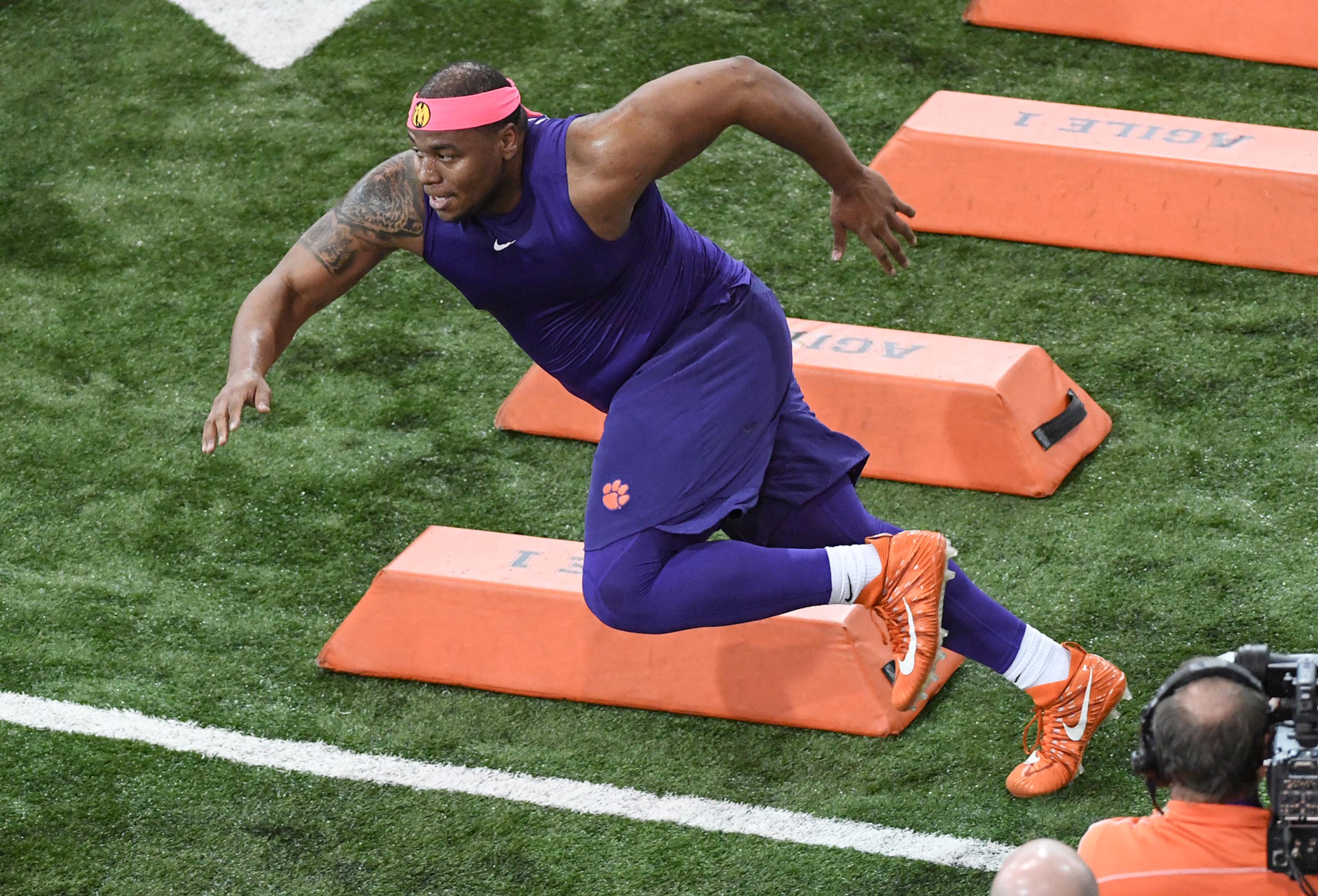 Ex-Clemson standout Dexter Lawrence on PED questions ahead of NFL draft: 'You can't hide from it'