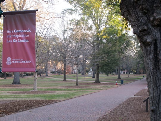 The Horseshoe on the campus of the University of South Carolina in Columbia, S.C., is seen on on Jan. 25, 2014.