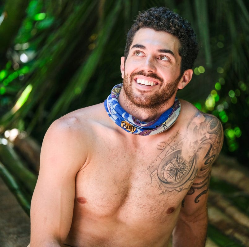 'Survivor' Week 4: Chris Underwood makes mark on Extinction Island