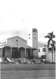 Santa Rosa Church in Agat is shown in this undated file photo