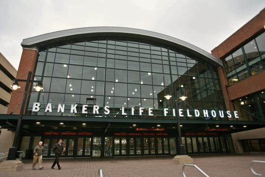 The new name Bankers Life Fieldhouse for the Indiana Pacers' home was revealed in December 2011.