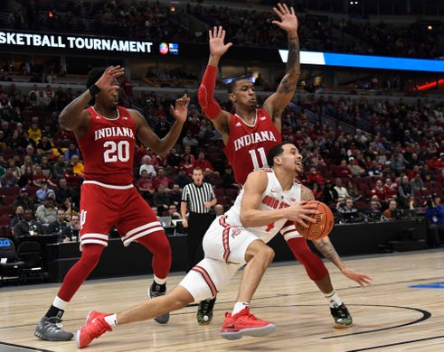 Big Ten Tournament live blog: IU basketball score, game ...