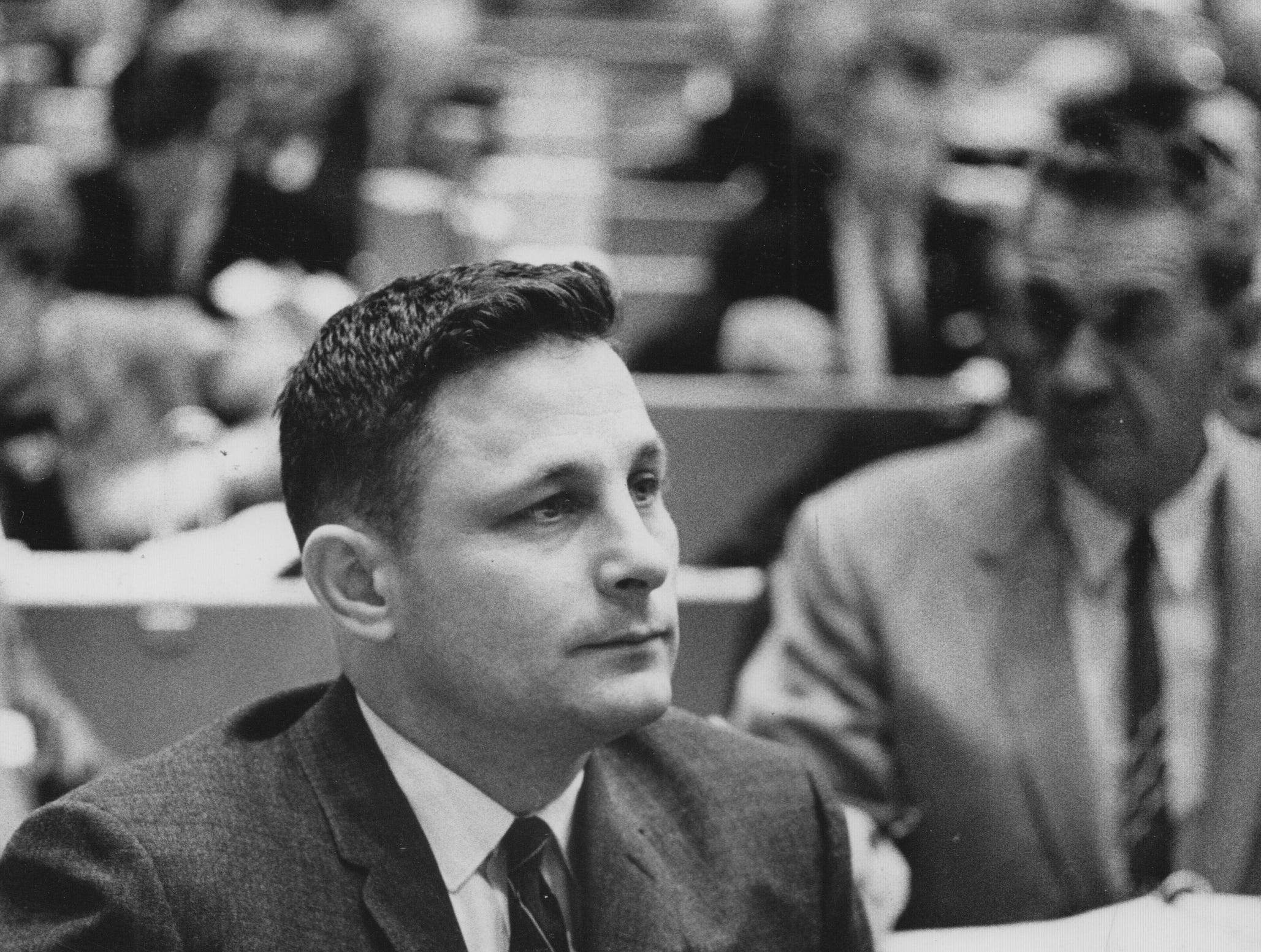 Birch Bayh in the Indiana House of Representatives in 1961.