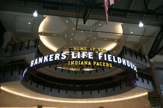 A press conference was held at the former Conseco Fieldhouse announcing its renaming to Bankers Life Fieldhouse in December 2011. The new sign went up immediately.