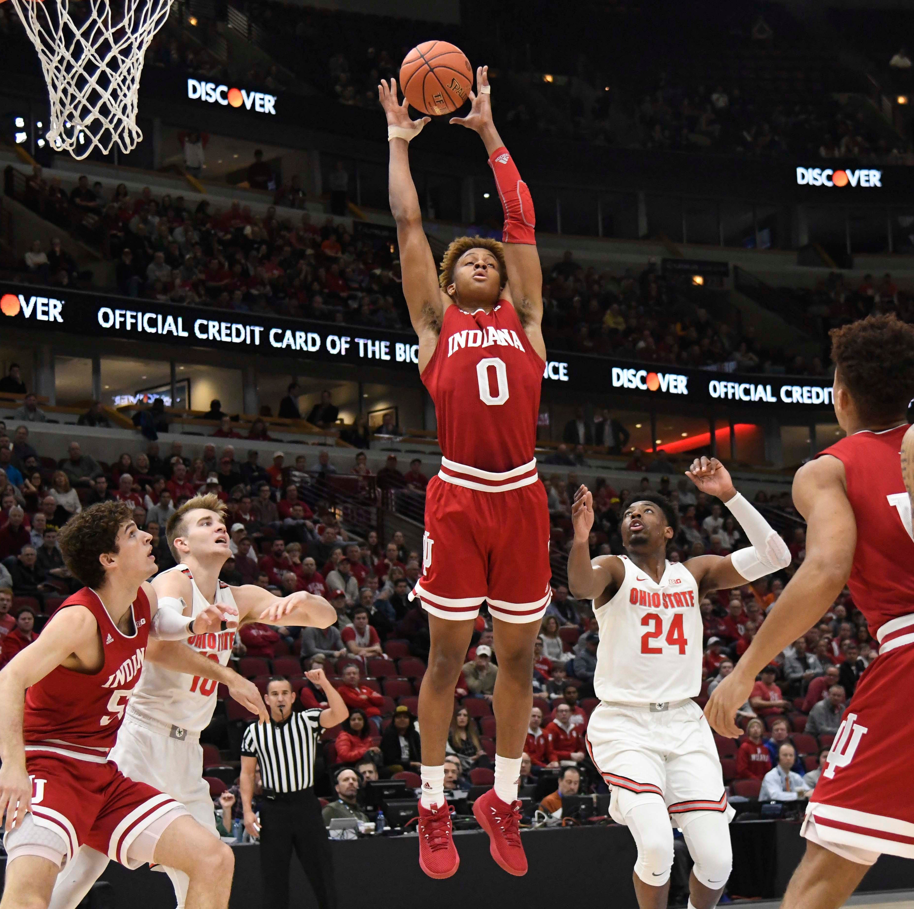 Romeo Langford sitting out IU basketball's NIT game with back issue