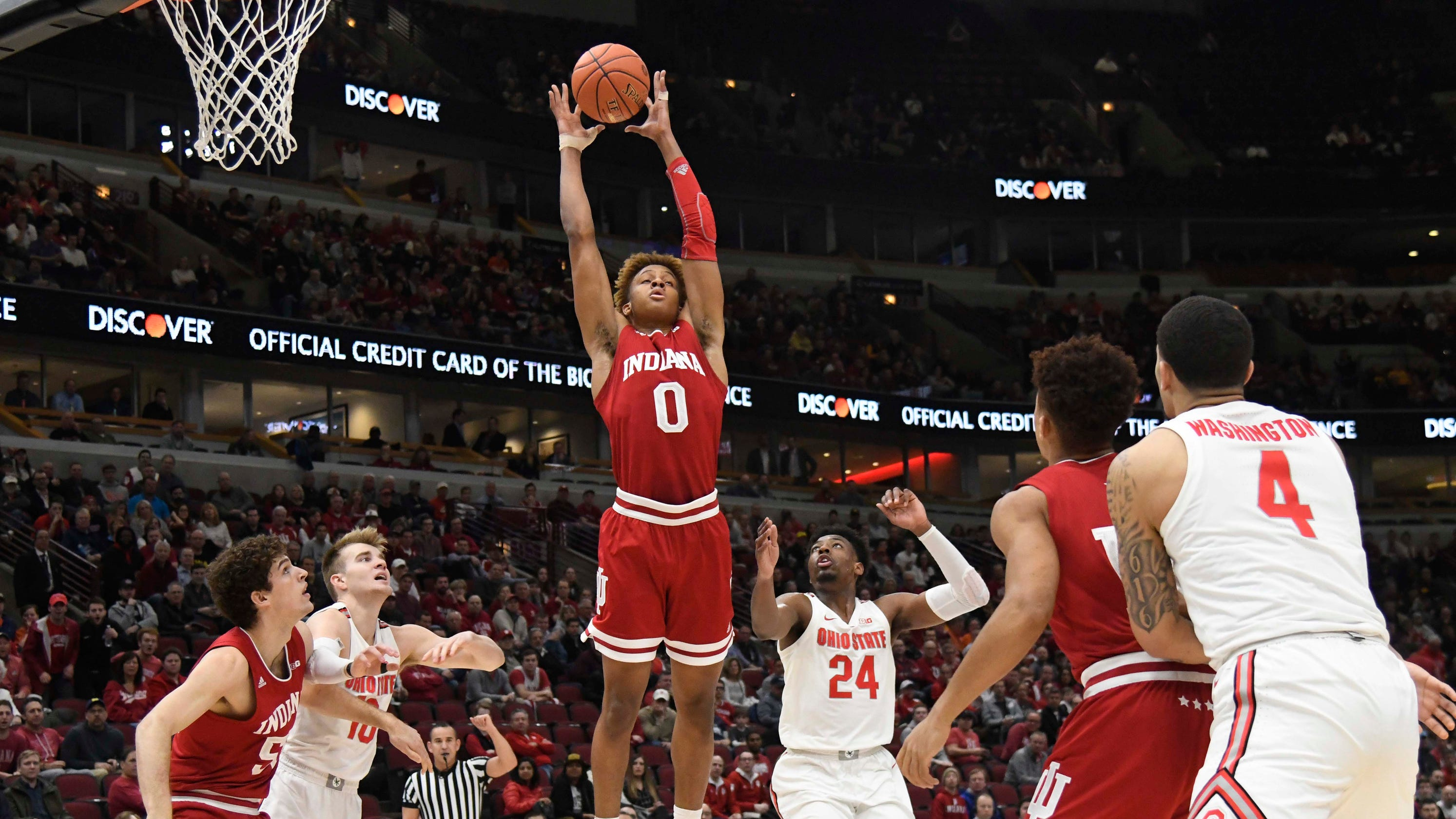 Big Ten Tournament Live Blog Iu Basketball Score Game