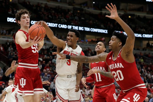 Big Ten Tournament live blog: IU basketball score, game ...